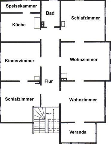stilvoll sanierte  5-Zimmerwohnung im Südviertel von  Ilmenau