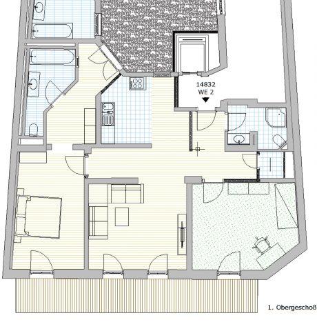 Erstbezug nach Neusanierung in eine exklusive 3-Zimmerwohnung in der Innenstadt von Ilmenau